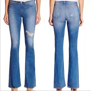 Rag & Bone High Rise Bell Jeans